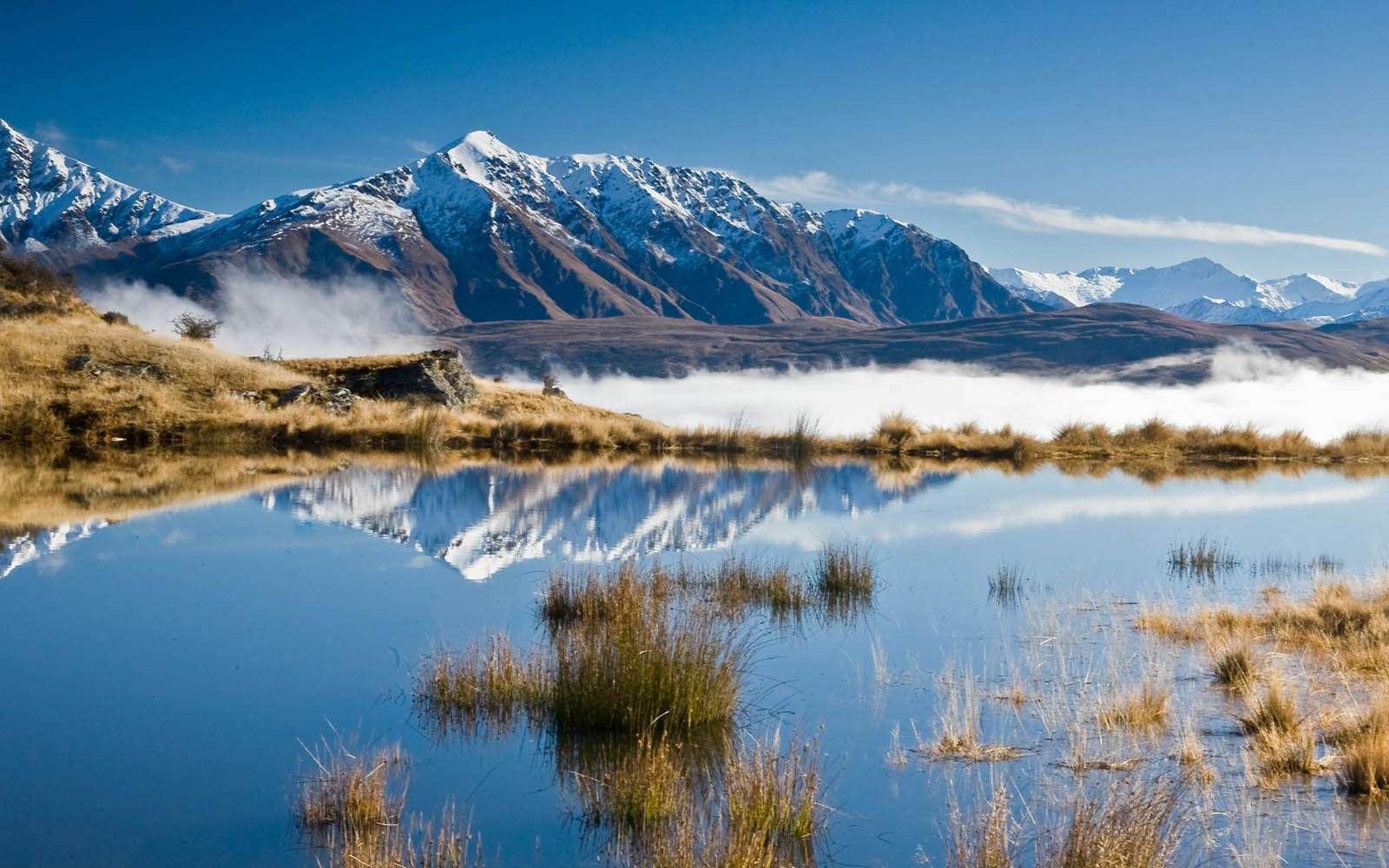 Wallpapers snow mountains wallpapers for Nz landscape