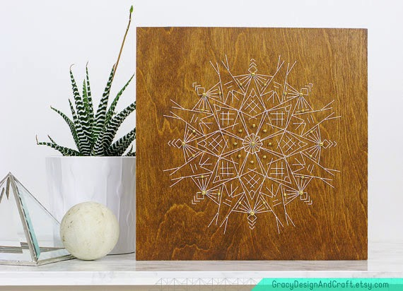 string art, all natural art