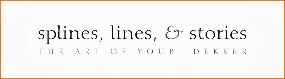 Splines, Lines, and Stories