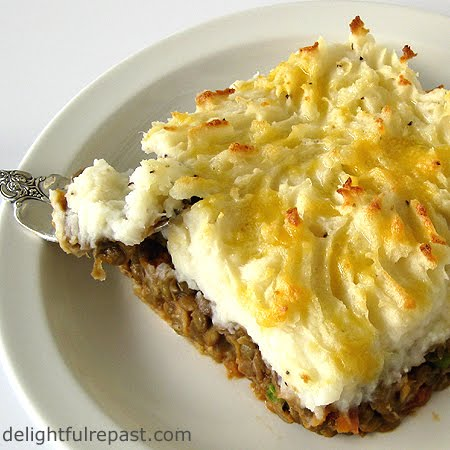 Vegetarian Shepherd's Pie Recipe — Dishmaps