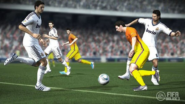 hình ảnh fifa online 3 cực kỳ sắc nét