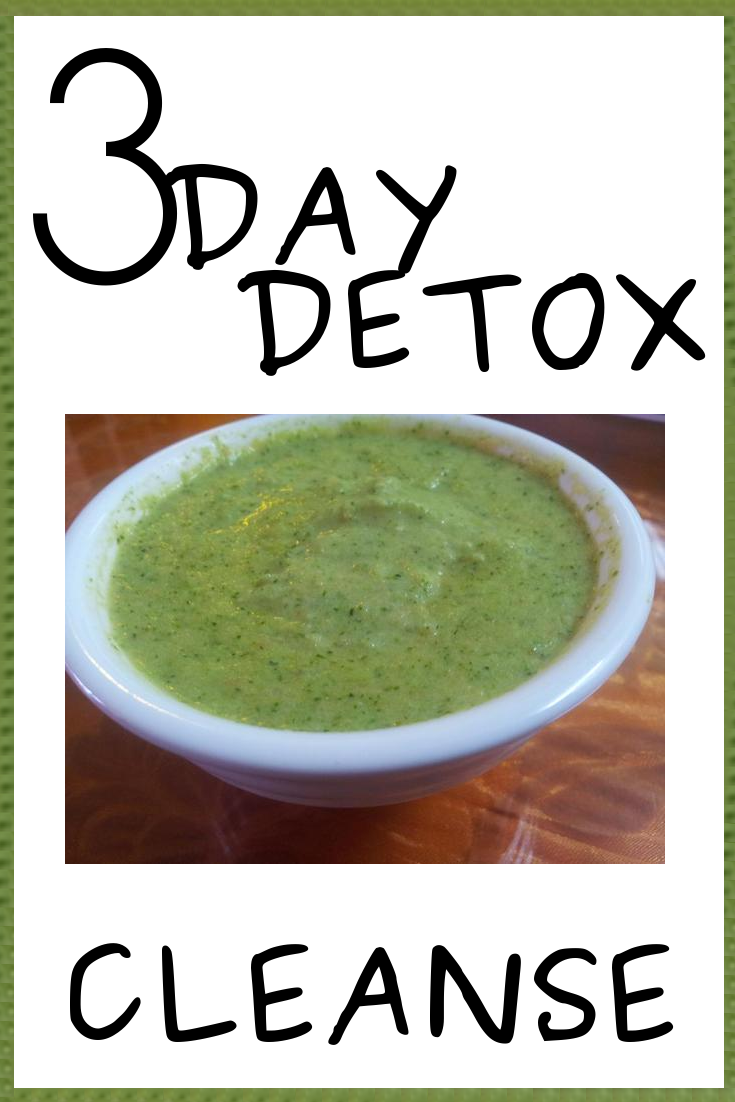 How to detox in 3 days