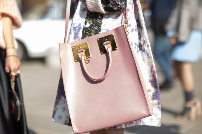 Inspiración rosa bolso Sophie Hulme