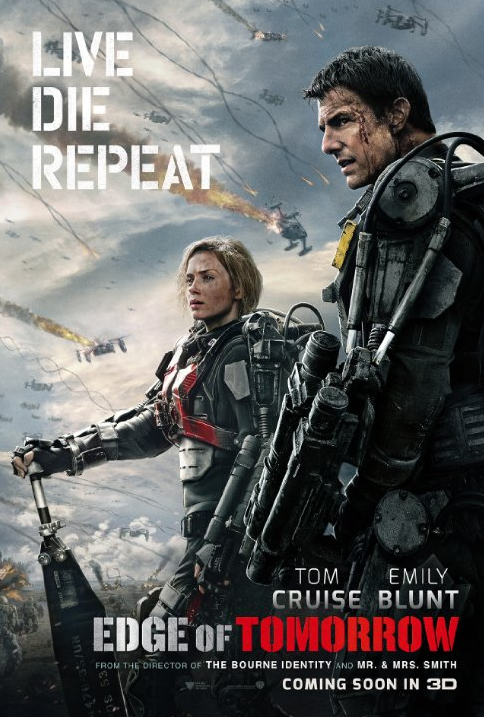 Edge of Tomorrow 2014 DVDRIP tainies online oipeirates