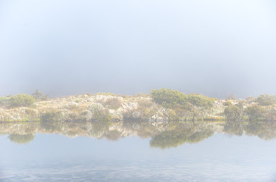 Clemes Tarn in a misty mood - 3rd May 2011