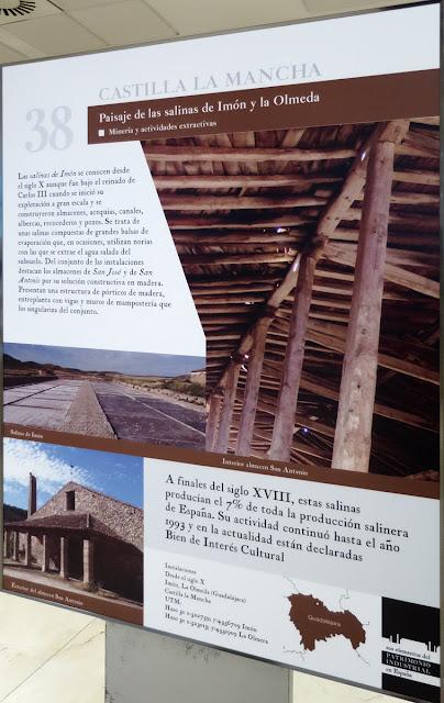 Paisaje de las salinas de Imón y la Olmeda
