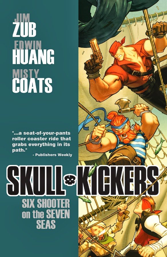 Review: Skullkickers Volume 3 Six Shooter on the Seven Seas