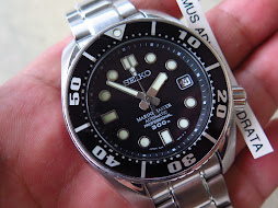 SEIKO DIVER SUMO MODIF WITH ORIGINAL SEIKO MARINE MASTER 300m DIAL AND HANDS - AUTOMATIC 6R15