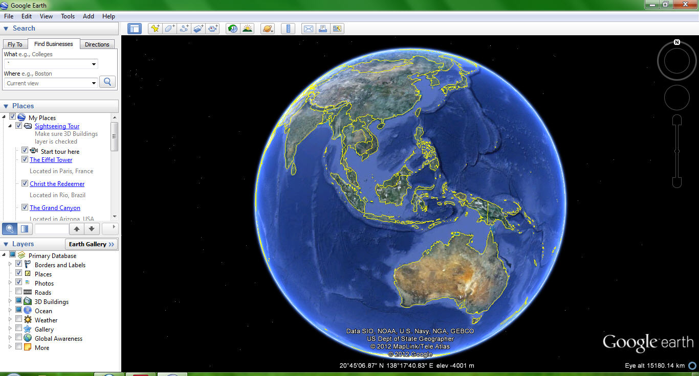 Open+Google+Earth
