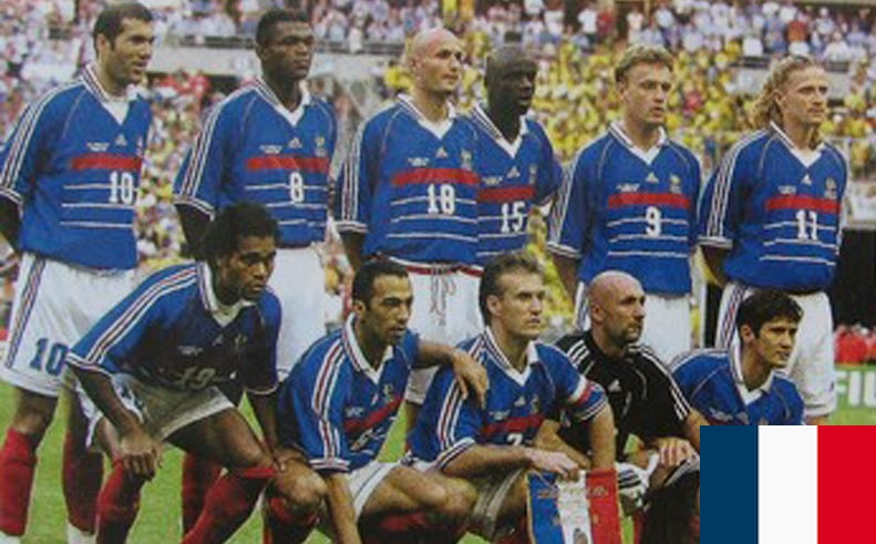 Finale de la coupe du Monde de Football 1998 France
