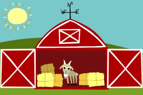 Red Barn Door Clip Art a happy wanderer: may 2011