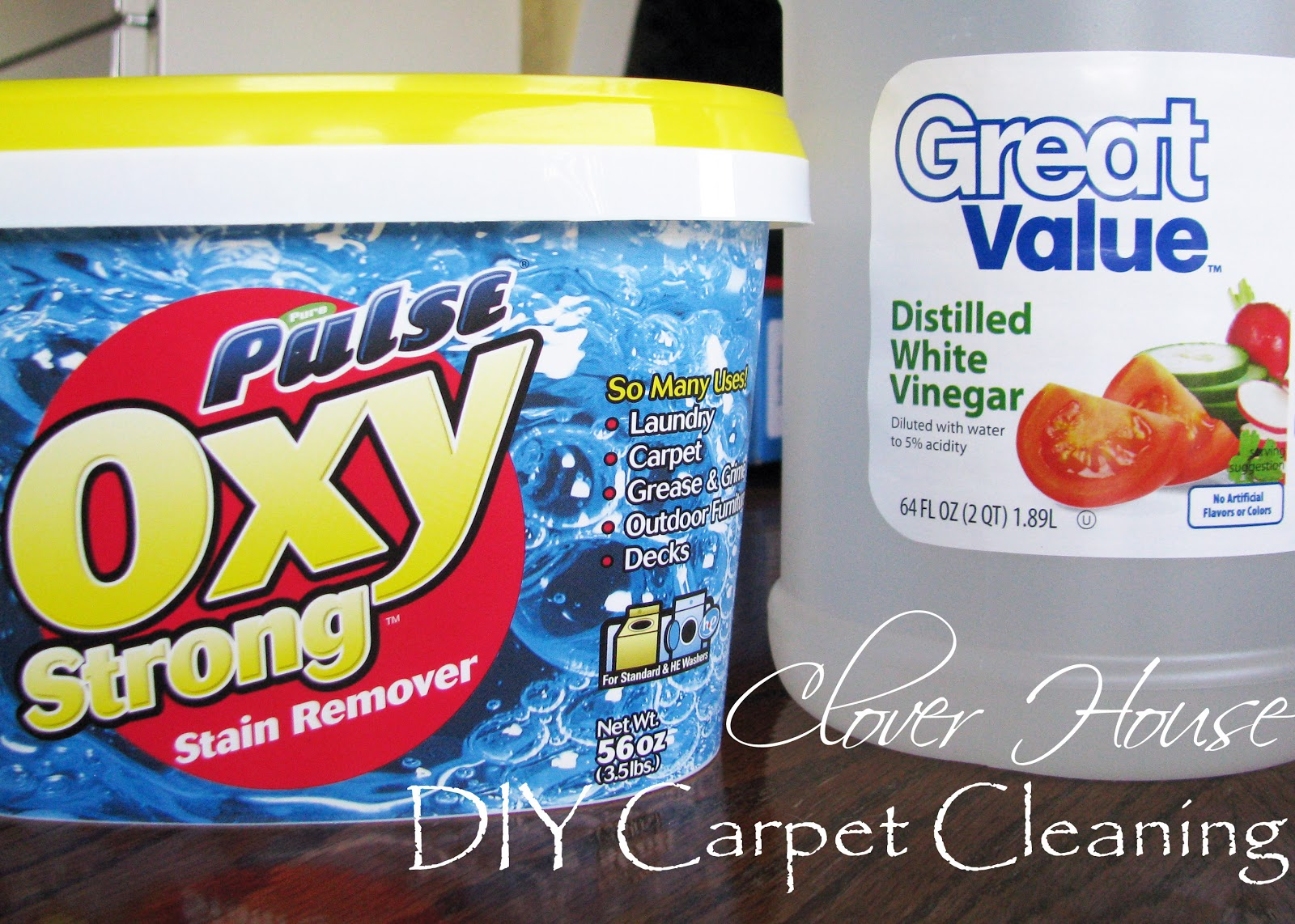 diy carpet cleaner. DIY Carpet Cleaning Mixture: 2 1/2 Cups Of Distilled White Vinegar Scoops (4 Tblsp) Oxy Clean. Warm To Hot Water The Fill Line On Tank Diy Cleaner A