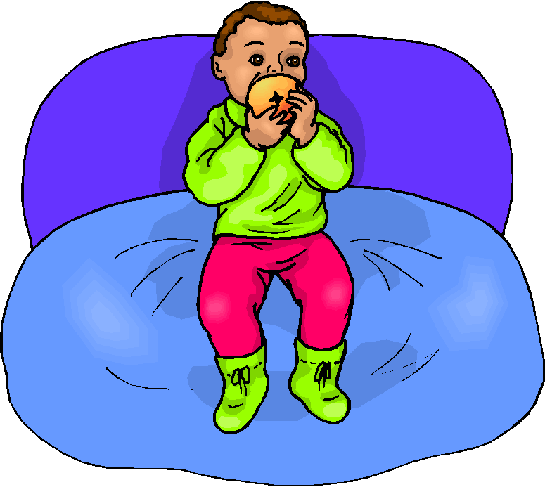 Baby eat food free clipart