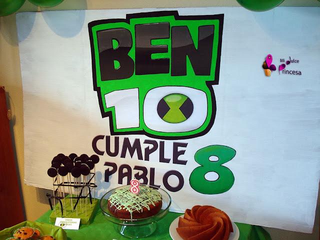 Ben 10, cumple, cumpleaños, cumpleaños temático, cumpleaños temático Ben 10, cumpleaños temáticos, fiesta temática Ben 10,