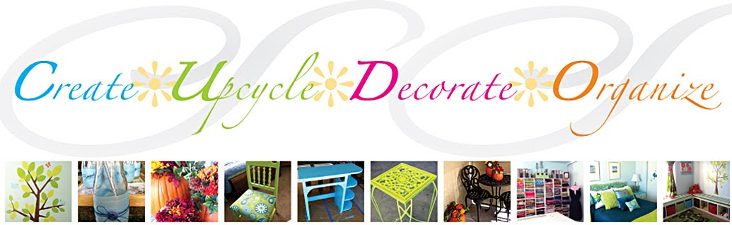 Create. Upcycle. Decorate. Organize