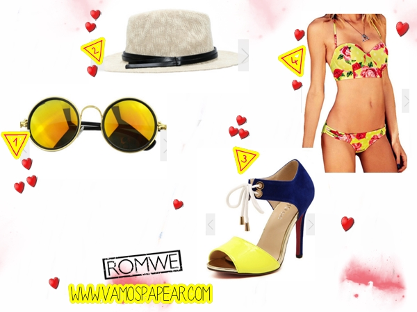 Dicas Loja Online Romwe Acessorios e Bikinis ACCESSORIES - Sunglasses, Hats, Scarves, Belts?utm_source=vamospapear.com&utm_medium=blogger&url_from=vamospapear