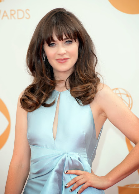 red carpet dresses zooey deschanel
