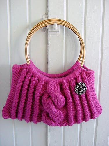 Knit Purse Pattern : Purse pattern-Knitting Gallery
