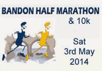 Bandon Half-Marathon & 10k...Half entries €20 before the 31st of March