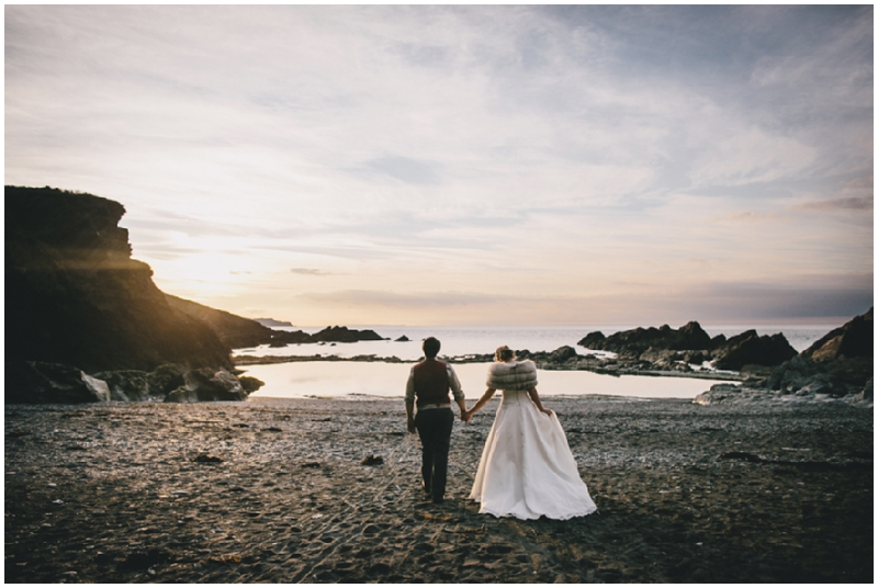 Helen Lisk Photography Beach Wedding Tunnels Beaches Devon