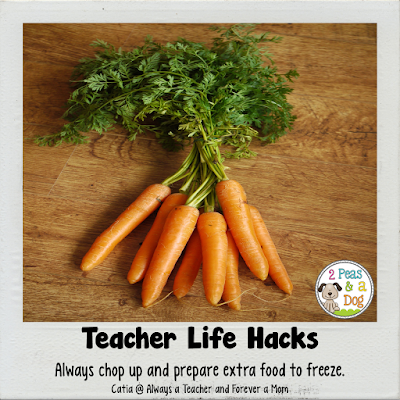 A blog post series sharing ideas to make teacher's lives more organized to help them maximize their personal life.
