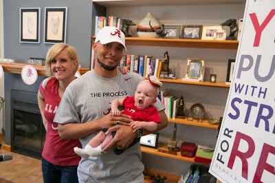 Kelly Ceasar (mom), Adrick Ceasar (dad), Zoey Ceasar (sister)