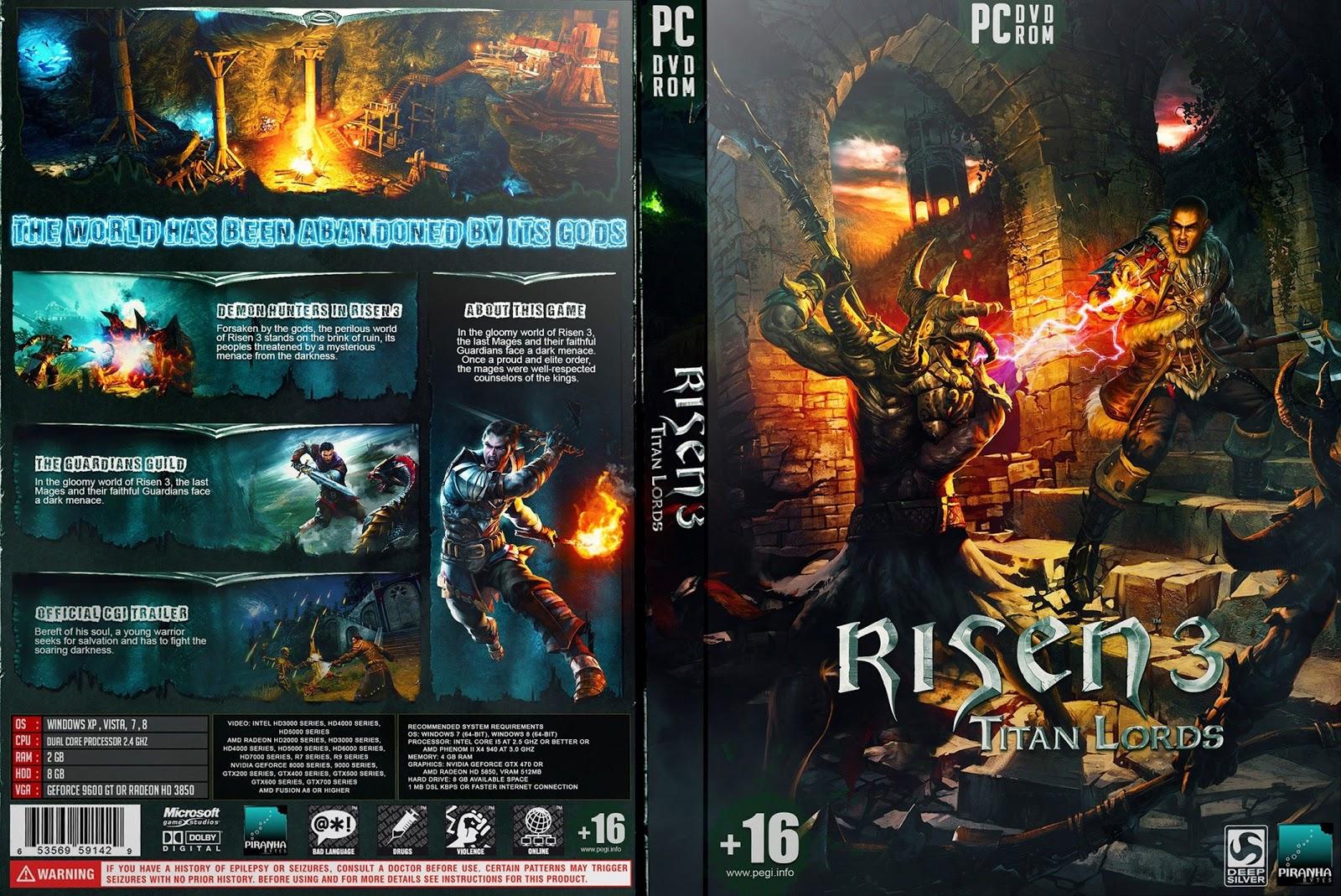 Capa Risen 3 Titan Lords PC