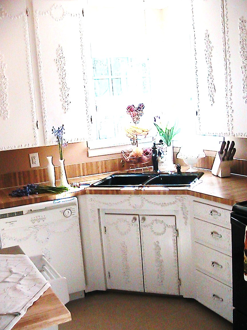 Katty\'s Cosy Cove: Shabby Chic Style Kitchen