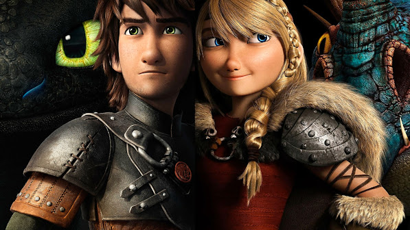 Hiccup and Astrid 0q