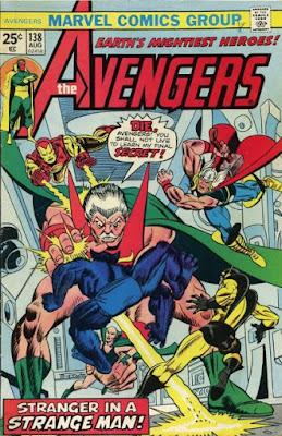 Avengers #138, the Stranger