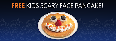 Free IHOP Kids Pancake on Halloween