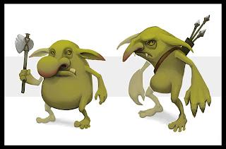 Jordan Ewing goblin concept