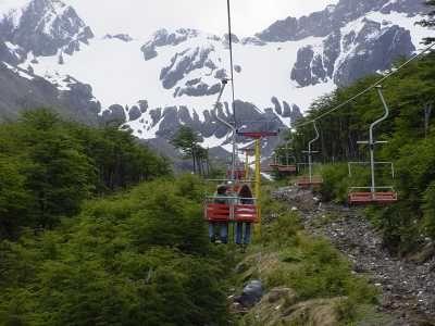 Aerosilla Centro de Montaña Glaciar Martial 2012