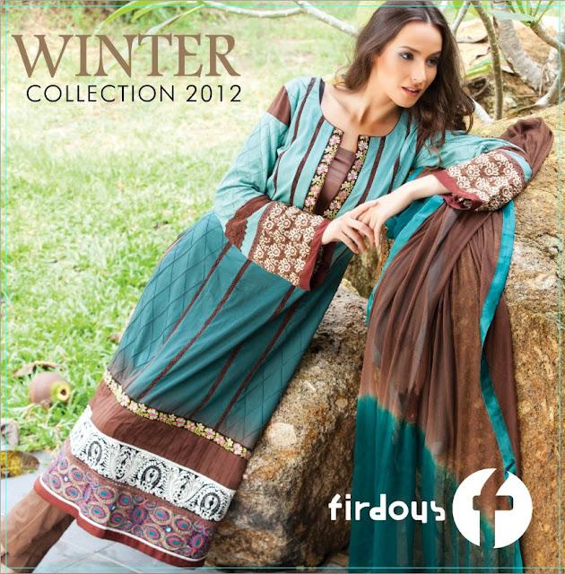 FirdousWinterDresses252812529 - Firdous Winter dresses 2012
