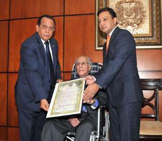 La Cámara de Diputados reconoce a Yaqui Núñez del Risco