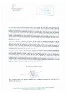 SR. CONSELLEIRO DE MEDIO AMBIENTE DA XUNTA DE GALICIA (ANO 2006)