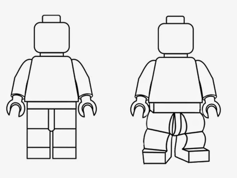 lego minifig coloring pages - photo#12