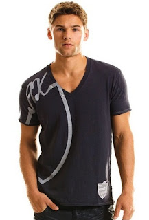 Casual Hunk in Armani Logo Patch