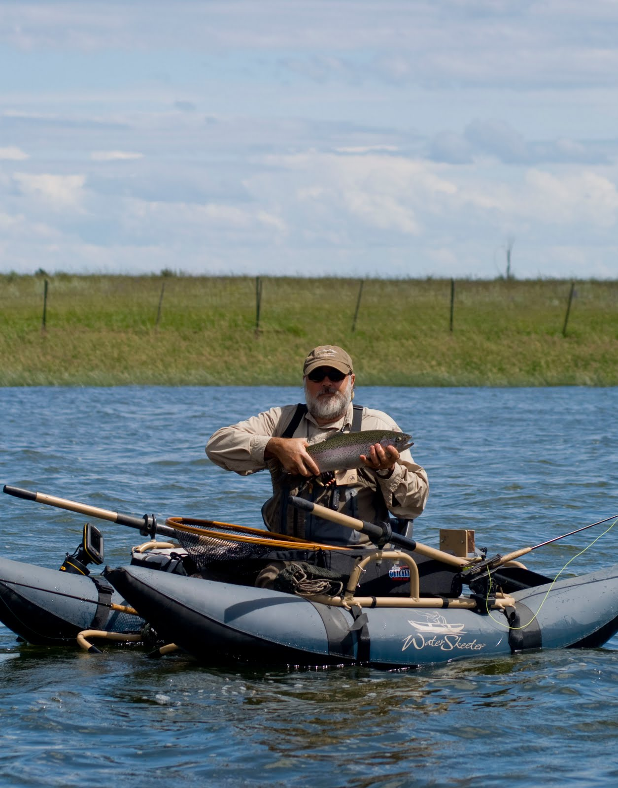 Fly fishing traditions double anchoring your pontoon boat for Fly fishing pontoon boats