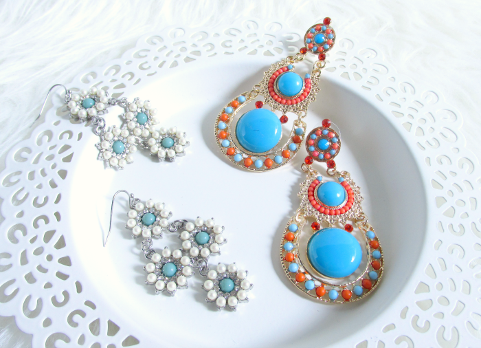 Spring Accessories - Boho & Vintage Statement Earrings