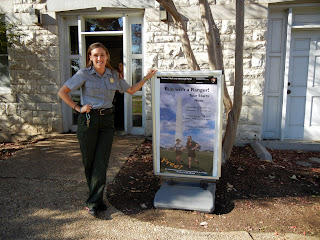 Niki is a national park ranger on the National Mall in DC