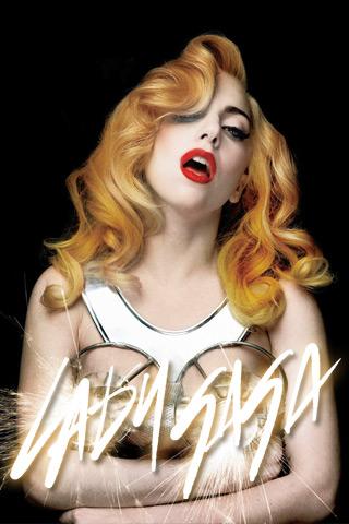 Lady Gaga iPhone Background (Set 4)