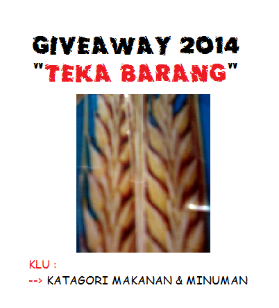 http://suanazhar.blogspot.com/2014/01/giveaway-2014.html