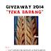 Giveaway 2014 Teka Barang