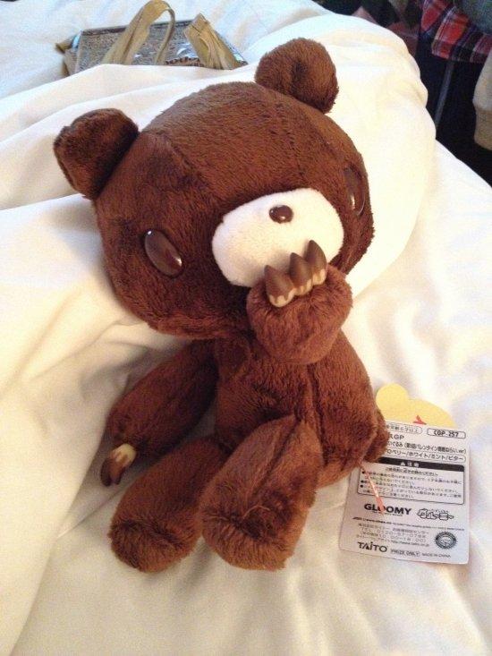 Chocolate Gloomy Bear