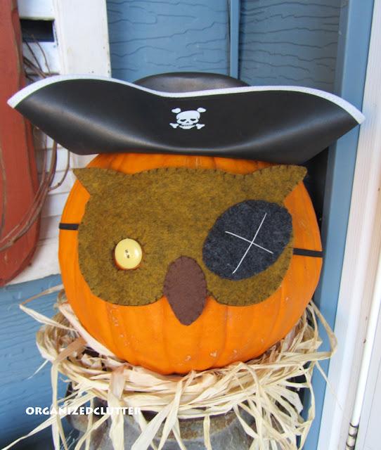 Masked Owl Pumpkins
