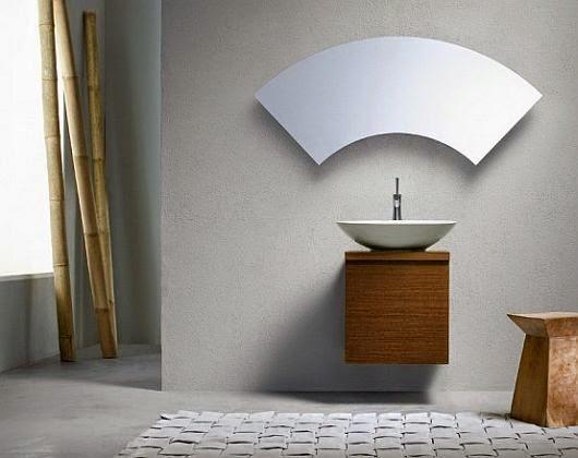Cermin kamar mandi