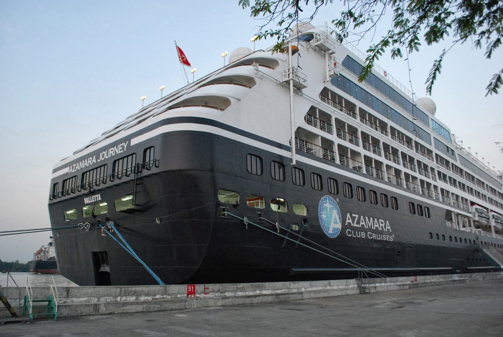 Azamara Cruise Tours at Klong Toey Port of Bangkok, Thailand
