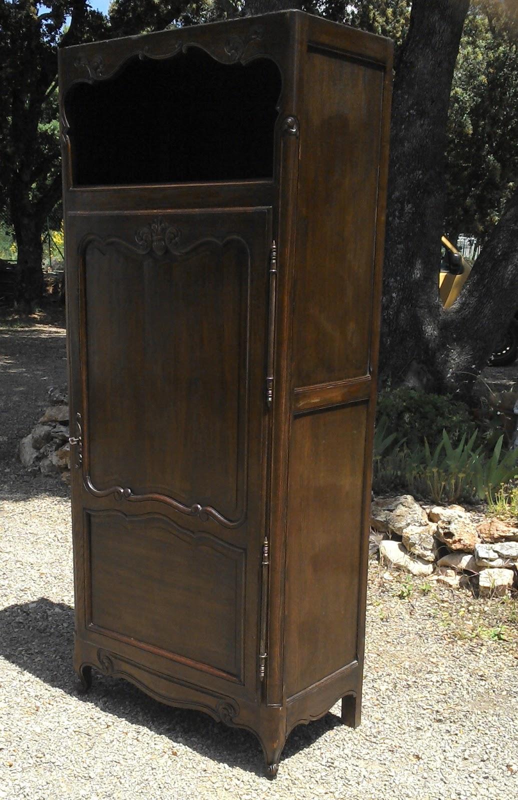 Ancien meuble armoire bonneti re for Meuble bonnetiere