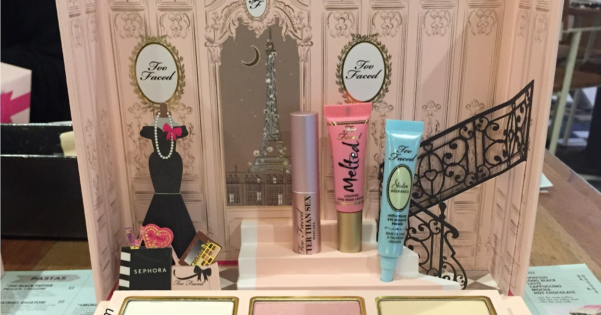 Too Faced Grand Hotel Cafe Holiday  Collection